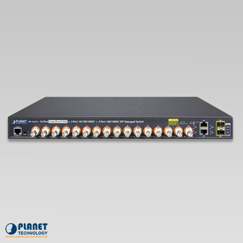 LRP-1622CS 16-Port LRP Switch Front