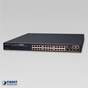 SGS-6340-24P4S Managed Switch