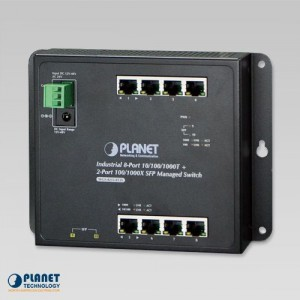 WGS-4215-8T2S Industrial Switch Front