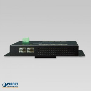 WGS-4215-8T2S Industrial Switch Side