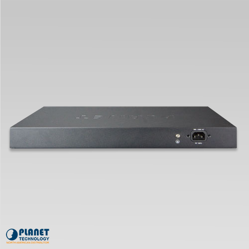 GSW-2620HP PoE Gigabit Ethernet Switch Back