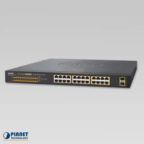 GSW-2620HP PoE Gigabit Ethernet Switch