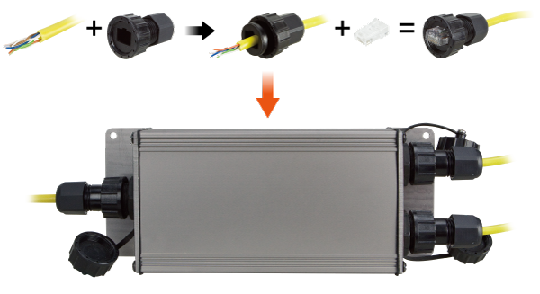 IPOE-E202 Weather-proof Connector