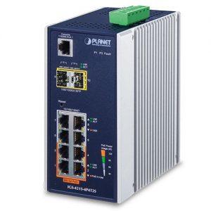 IGS-4215-4P4T2S PoE Switch