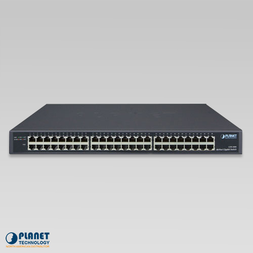GSW-4800 Gigabit Ethernet Switch Front