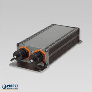 IPOE-E202 Industrial 1-Port PoE Extender Side 2