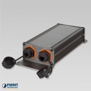 IPOE-E202 Industrial 1-Port PoE Extender Side 2 Open