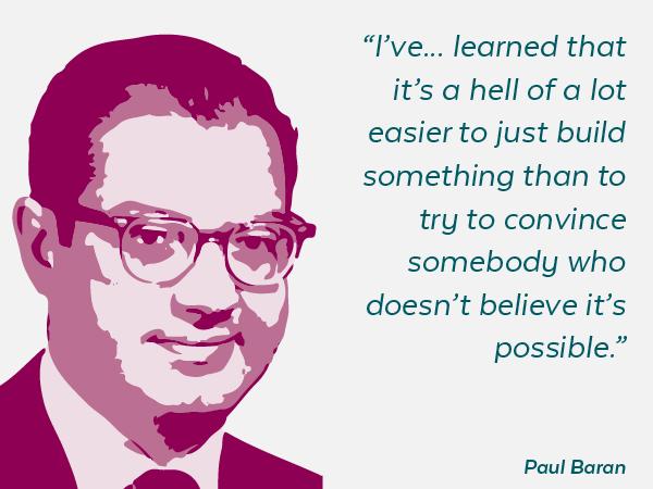 Paul Baren Quotes