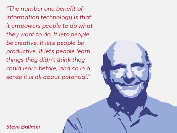 Steve Ballmer Quote
