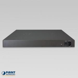 UPOE-800G 8-Port Ultra PoE Managed Hub Back