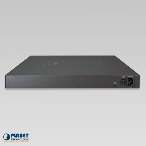 UPOE-800G 8-Port Ultra PoE Managed Hub Back