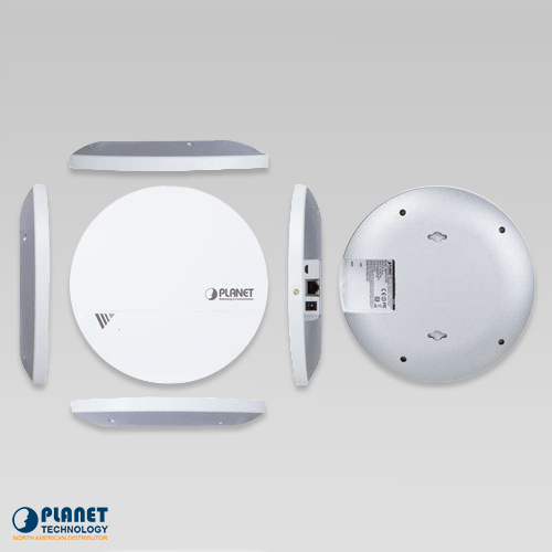 WDAP-C1750 Ceiling Mount Wireless Access Point All Views