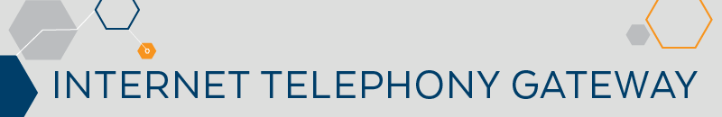 Product category Internet Telephony Gateway