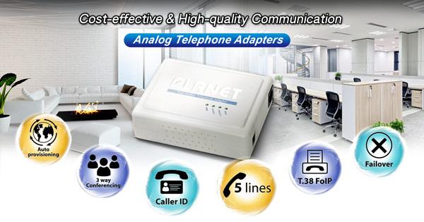 VIP-157S Analog Telephone Adapter