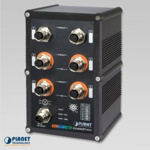 IGS-604HPT-M12 Industrial IP67 Switch