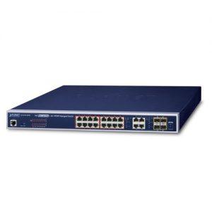 GS-4210-16P4C PoE Switch