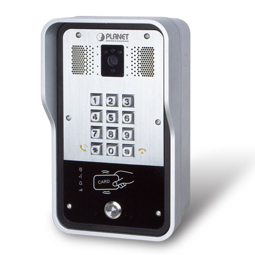 HDP-5260PT 720p SIP Multi-unit Apartment Vandalproof Door Phone with RFID and PoE