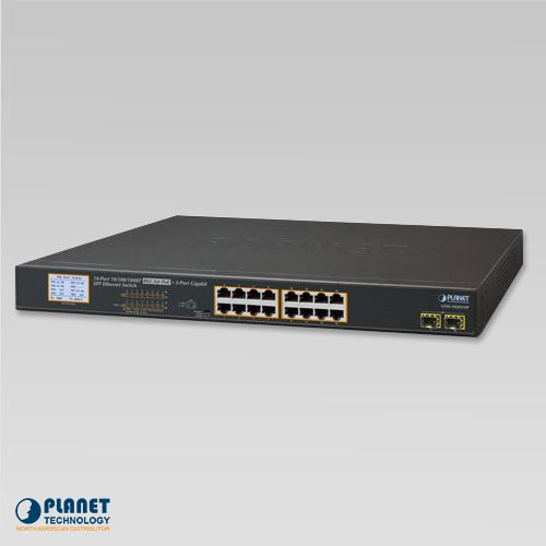 GSW-1820VHP PoE LCD Switch