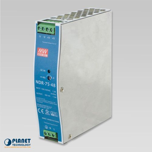 PWR-75-48 Industrial Power Supply