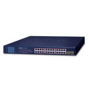 GSW-2620VHP PoE Switch