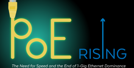 PoE Rising- The Need for Speed and the End of 1-Gig Ethernet Dominance