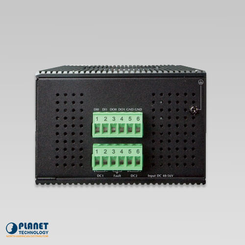 IGS-5225-4UP1T2S Industrial PoE Switch Top