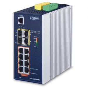IGS-5225-8P4S Industrial PoE Switch