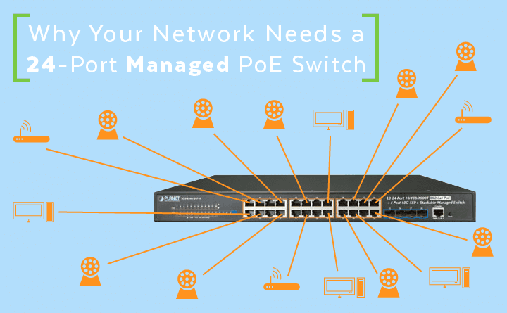 Magnificent Why Your Network Needs A 24 Port Managed Poe Switch Wiring 101 Akebretraxxcnl