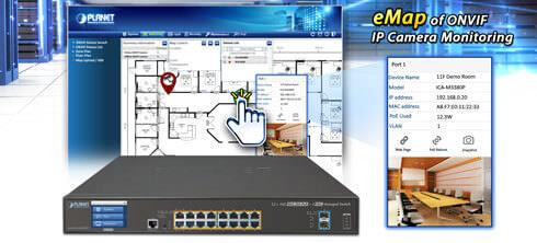 GS-5220-16P2XV(R) ONVIF eMap