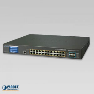 GS-5220-24PL4XV PoE Switch