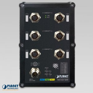 IGS-5227-6MT Industrial Switch Front