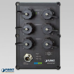 IGS-5227-6T Industrial IP67 Switch Front