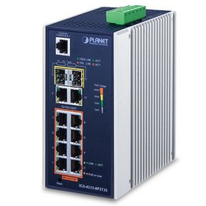 IGS-4215-8P2T2S PoE Switch