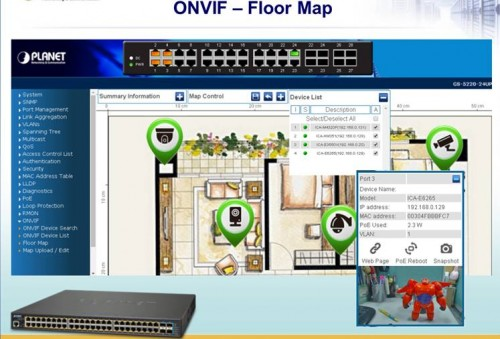 ONVIF Floor Map