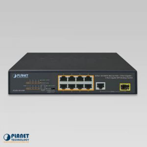 FGSD-1011HP PoE Switch Front