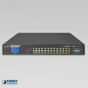 GS-5220-24UPL4XV PoE Switch Front