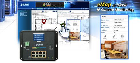 WGS-5225-8P2SV eMap of ONVIF