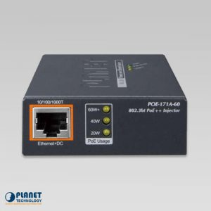 POE-171A-60 Ultra PoE Injector Front