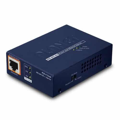 POE-171A-60 Single-Port Multi-Gigabit 802.3bt PoE++ Injector (60 Watts)