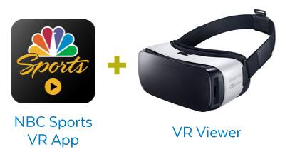 How to view VR olympics