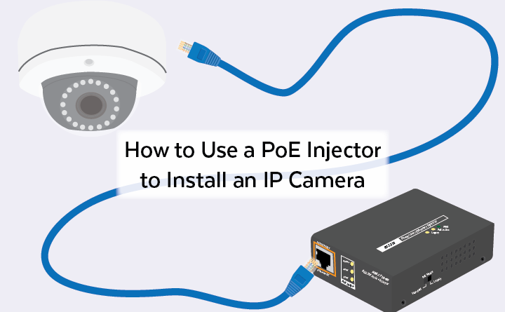 how to use a poe injector to install an ip camera in 3 simple steps Poe Mini PC Camera