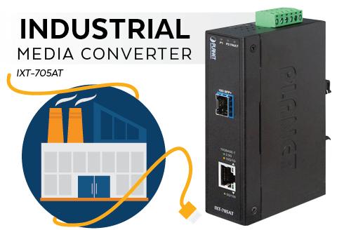 Industrial Media Converter