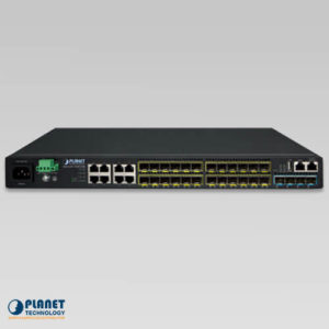 SGS-6341-16S8C4XR SFP Switch Front