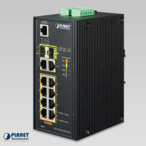 IGS-5225-8P2T2S Industrial PoE Switch