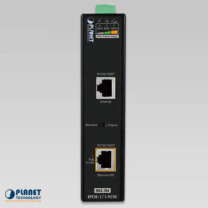 IPOE-171-95W Industrial PoE Injector Front