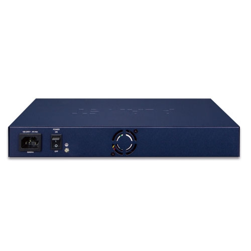 GS-5220-8UP2T2X PoE Switch Back
