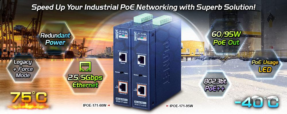 IPOE-171-60W Features