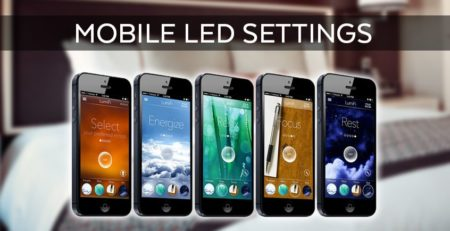 Mobile LED Settings
