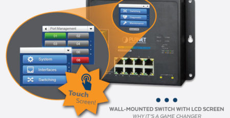 Wall-Mounted Switch with LCD Screen | Why It's a Game Changer