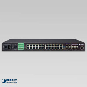 IGS-6325-20T4C4X Industrial Managed Switch Front